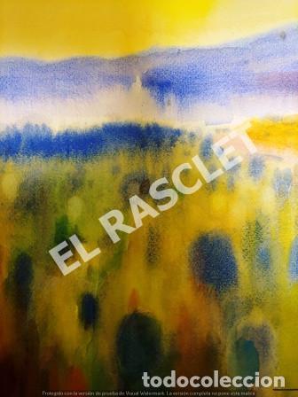 Arte: CUADRO -ACUARELA PAISATGE - JOSEP MARFA GUARRO - BARCELONA - - Foto 3 - 240031445