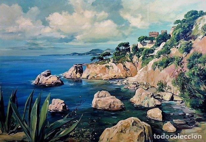 COSTA MALLORQUINA ESTEBAN LAFUENTE 1907 - 1971 (Arte - Pintura - Pintura al Óleo Moderna sin fecha definida)