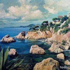 Arte: COSTA MALLORQUINA ESTEBAN LAFUENTE 1907 - 1971. Lote 240102455