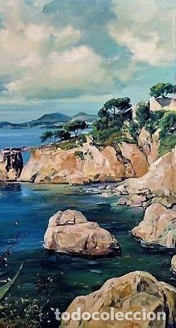 Arte: COSTA MALLORQUINA ESTEBAN LAFUENTE 1907 - 1971 - Foto 2 - 240102455