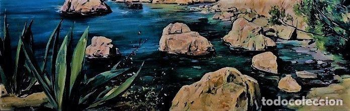 Arte: COSTA MALLORQUINA ESTEBAN LAFUENTE 1907 - 1971 - Foto 3 - 240102455