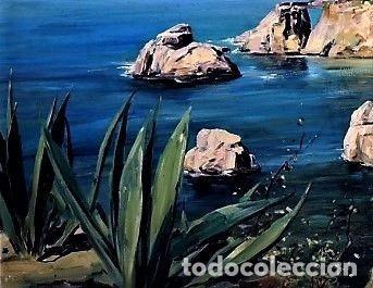 Arte: COSTA MALLORQUINA ESTEBAN LAFUENTE 1907 - 1971 - Foto 4 - 240102455