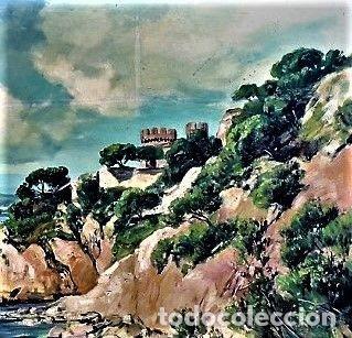 Arte: COSTA MALLORQUINA ESTEBAN LAFUENTE 1907 - 1971 - Foto 5 - 240102455
