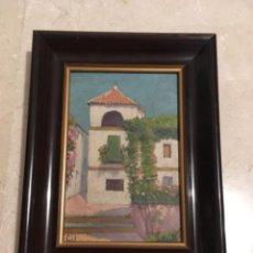 Arte: SEVILLA, ÓLEO SOBRE TABLA DE FELIPE GIL GALLANGO (1868-1938). Lote 240275785