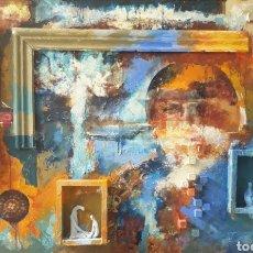 Arte: JOSEP COSTA VILA (GRANOLLERS, 1953) - PINTURA MATÉRICA.ART BRUT.OLEO/TABLA.FIRMADO.CERTIFICADO.. Lote 239740330