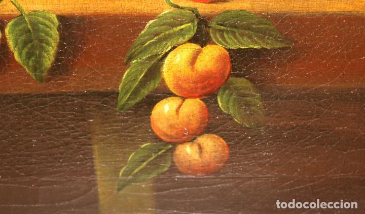Arte: ESCUELA ESPAÑOLA DE FINALES DEL SIGLO XVIII. OLEO SOBRE TELA. BODEGON - Foto 9 - 240455010