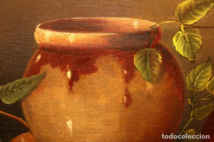 Arte: ESCUELA ESPAÑOLA DE FINALES DEL SIGLO XVIII. OLEO SOBRE TELA. BODEGON - Foto 14 - 240455010