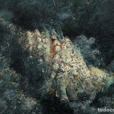 Arte: ABSTRACTO 1: MUNDO SUBMARINO POR JOAQUÍN CAÑETE BABOT (1933, JEREZ DE LA FRONTERA, CÁDIZ). Lote 240718960