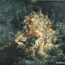 Arte: ABSTRACTO 2: MUNDO SUBMARINO POR JOAQUÍN CAÑETE BABOT (1933, JEREZ DE LA FRONTERA, CÁDIZ). Lote 240719950