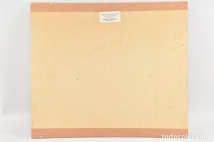 Arte: MARAVILLOSO RETRATO OLEO MAGNIFICO SEMENTAL CABALLO AÑO 1930 43X 49 cm - Foto 7 - 240951100