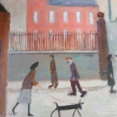 Arte: L.S. LOWRY. PAISAJE INDUSTRIAL. Lote 240973945