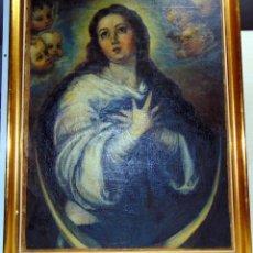 Arte: BONITA COPIA DE LA INMACUALADA DE MURILLO, OLEO , VER FOTOS Y DESCRIPCIÓN. Lote 241077520