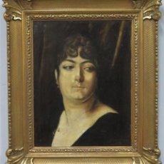 Arte: RETRATO DE MUJER. OLEO S/ LIENZO. JOSE GARCIA Y RAMOS (SEVILLA, 1852-IBÍDEM, 1912). FIRMADO. SEVILLA. Lote 241093020
