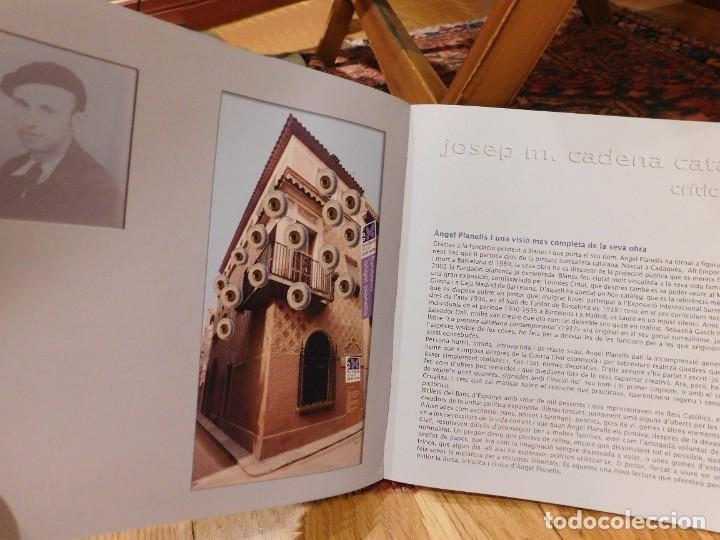"Arte: ANGEL PLANELLS 1901/1989 - OLEO / LIENZO - ""BODEGÓ 1970"" - 73 X 54 CM - OBRA CATALOGADA - VER FOTOS - Foto 22 - 241197525"