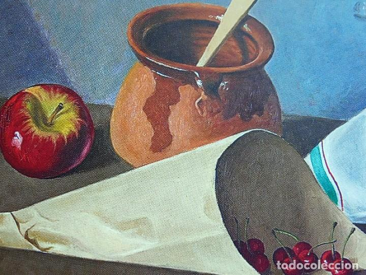 "Arte: ANGEL PLANELLS 1901/1989 - OLEO / LIENZO - ""BODEGÓ 1970"" - 73 X 54 CM - OBRA CATALOGADA - VER FOTOS - Foto 7 - 241197525"