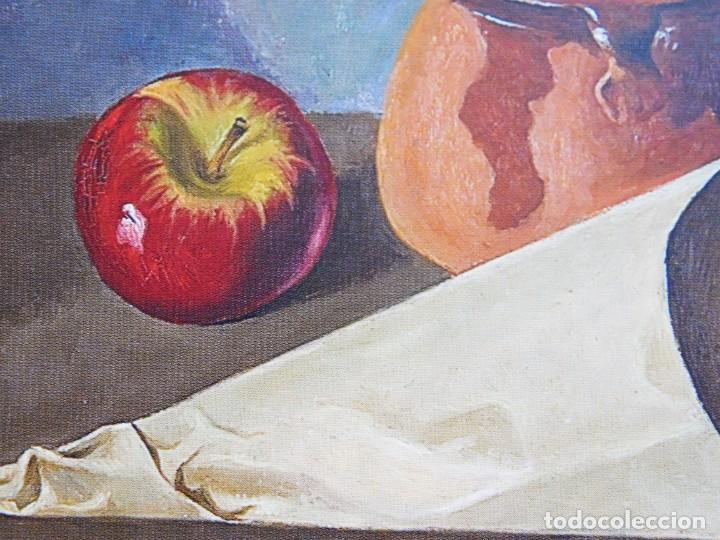 "Arte: ANGEL PLANELLS 1901/1989 - OLEO / LIENZO - ""BODEGÓ 1970"" - 73 X 54 CM - OBRA CATALOGADA - VER FOTOS - Foto 15 - 241197525"