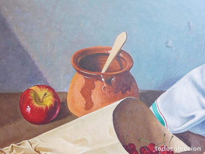 "Arte: ANGEL PLANELLS 1901/1989 - OLEO / LIENZO - ""BODEGÓ 1970"" - 73 X 54 CM - OBRA CATALOGADA - VER FOTOS - Foto 12 - 241197525"