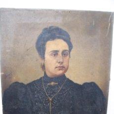 Arte: BONITO RETRATO DE UNA DAMA AUTOR COSTAPE 1900. Lote 241420435