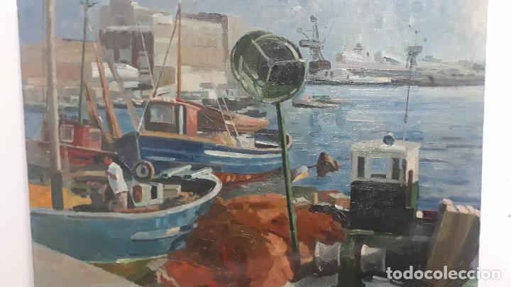 Arte: magnifica pintura al oleo sobre lienzo firmado fresquet,fina mano impresionista - Foto 5 - 241479525