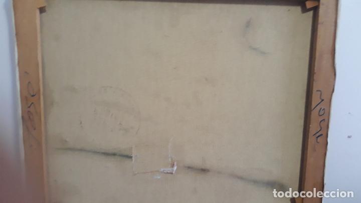 Arte: magnifica pintura al oleo sobre lienzo firmado fresquet,fina mano impresionista - Foto 7 - 241479525