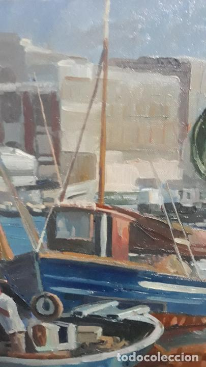 Arte: magnifica pintura al oleo sobre lienzo firmado fresquet,fina mano impresionista - Foto 8 - 241479525