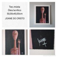 Arte: JOANE DO CRISTO. SIN TÍTULO (50X40). Lote 241827035