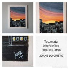 Arte: JOANE DO CRISTO. SIN TÍTULO (50X40). Lote 241827060