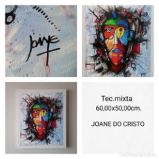 Arte: JOANE DO CRISTO. SIN TÍTULO (60X50CM). Lote 241827235