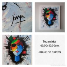Arte: JOANE DO CRISTO. SIN TÍTULO (60X50CM). Lote 241827255