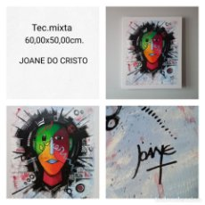 Arte: JOANE DO CRISTO. SIN TÍTULO (60X50CM). Lote 241827265