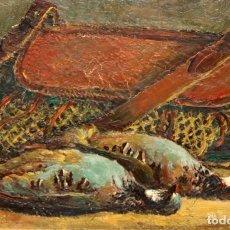 Arte: ENRIC PORTA MESTRE (LA POBLA DE SEGUR, LLEIDA 1901 - BARCELONA 1993) OLEO TELA. NATURALEZA MUERTA. Lote 241896010