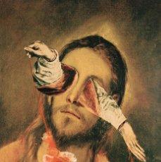 Arte: JORGE GALINDO GRAN ÓLEO SOBRE LIENZO 2001 FIRMADO EL GRECO EN BOROX IMITATION OF CHRIST. Lote 241991060