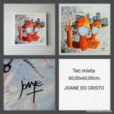 Arte: JOANE DO CRISTO. LA RESISTENCIA (60X60). Lote 241995860