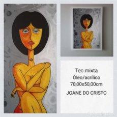 Arte: JOANE DO CRISTO. SOLA (70X50). Lote 241999175