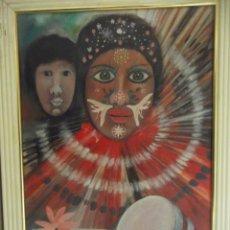 Arte: LOTE 2 OBRAS DEL ARTISTA M. BUENO. Lote 242323640