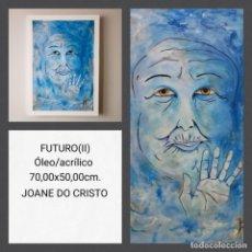 Arte: JOANE DO CRISTO. FUTURO II (70X50). Lote 242427475