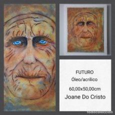 Arte: JOANE DO CRISTO. FUTURO (60X50). Lote 242427495