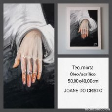 Arte: JOANE DO CRISTO. SIN TÍTULO (50X40). Lote 242427525