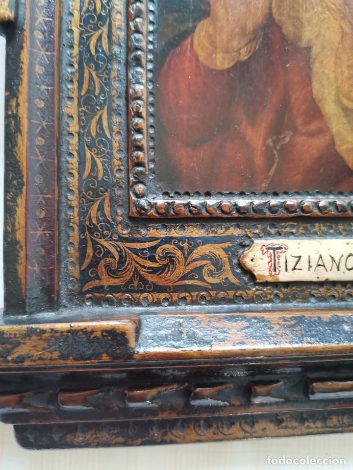 Arte: Rebajas! Cuadro Icono antiguo Tiziano - Foto 4 - 242485820