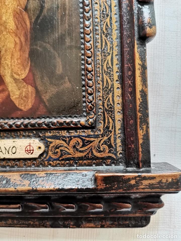 Arte: Rebajas! Cuadro Icono antiguo Tiziano - Foto 5 - 242485820