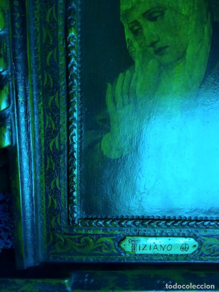 Arte: Rebajas! Cuadro Icono antiguo Tiziano - Foto 8 - 242485820
