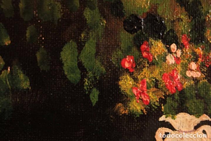 Arte: Escuela española del siglo XX. Oleo sobre lienzo. Firmado F. Beneyto. Enmarcado 48x40cm - Foto 9 - 242857365