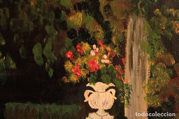Arte: Escuela española del siglo XX. Oleo sobre lienzo. Firmado F. Beneyto. Enmarcado 48x40cm - Foto 10 - 242857365
