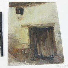 Arte: OLEO DE DHARCOURT DE 1970. Lote 242873980
