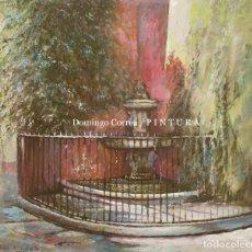 Arte: FUENTE DE LA CALLE JUDERÍA. SEVILLA. DOMINGO CORREA. ÓLEO. LANDSCAPE SEVILLE. FOUNTAIN.. Lote 242969325