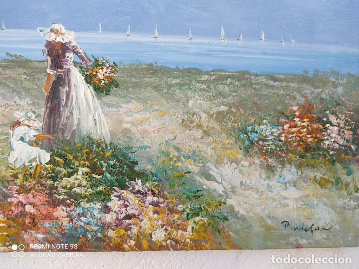 Arte: pintura oleo con autor - Foto 2 - 243018690