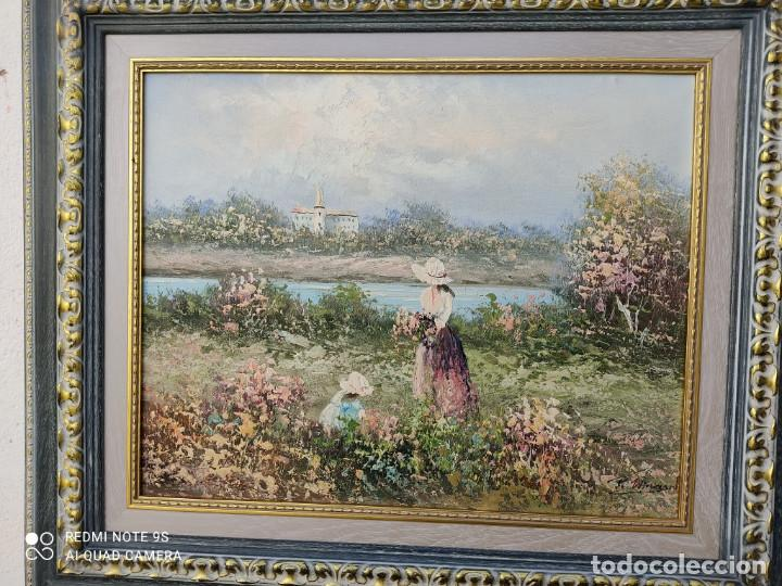 Arte: pintura oleo con autor - Foto 2 - 243018855