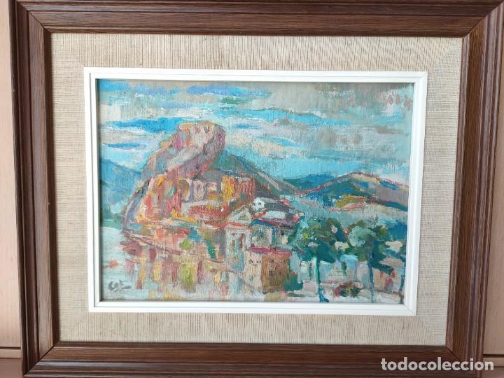 Arte: Óleo sobre lienzo firmado vista urbana - Foto 2 - 243170070
