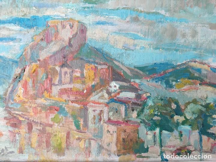 Arte: Óleo sobre lienzo firmado vista urbana - Foto 4 - 243170070