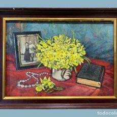 Arte: DENISE HARREWYN (1915-2006) - SOUVENIRS D'UN HIER HEUREUX. Lote 243248105